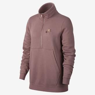 Nike Women's 1/2-Zip Fleece Top