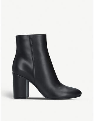 Gianvito Rossi Rolling 85 leather heeled ankle boots