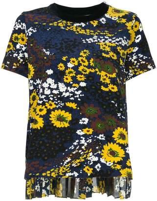 Sacai floral print T-shirt