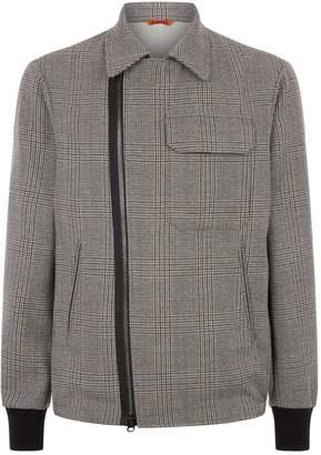 Barena Collared Check Jacket