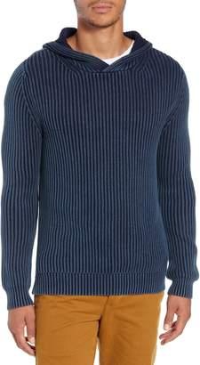 Life After Denim Stillwater Slim Fit Shaker Stitch Sweater Hoodie
