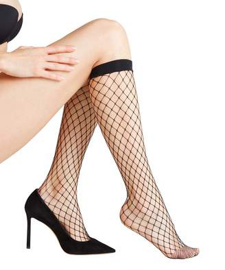 Falke Women's Classic Net Knee-High Socks 5 DEN