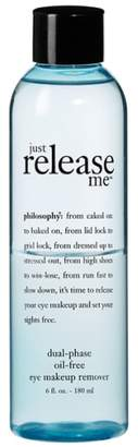 philosophy 'just Release Me' Dual-Phase Oil-Free Eye Makeup Remover
