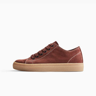 James Perse CARBON SOFT SUEDE SNEAKER - WOMENS