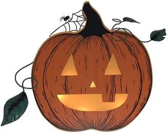 Celebrate Halloween Together Light-Up Pumpkin Wall Decor