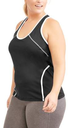 Ben Be Empowered Naturally Women's Plus Yoga Racer Back Tank