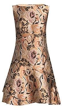 Etro Women's Floral Jacquard Cocktail Dress