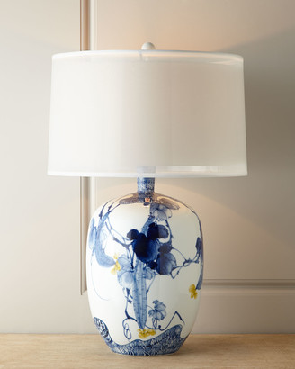John-Richard Collection John Richard Collection Floral Chinoiserie Lamp
