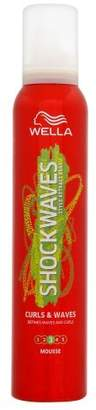 Shockwaves Wella  Curls and Waves Shaping Mousse, 200 ml
