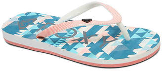 Roxy Pebbles VI Toddler & Youth Flip Flop - Girl's