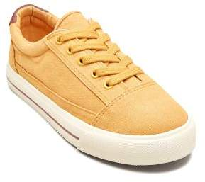Boys Ochre Skate Lace-Up Shoes (Older Boys) - Yellow