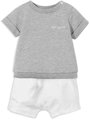 Jacadi Unisex Layered-Look Shortall - Baby