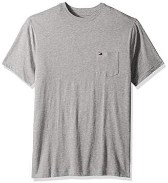 Tommy Hilfiger Men's Big and Tall T-Shirt with Pocket