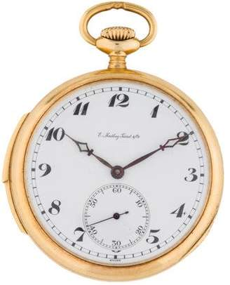 Tissot E. Mathey Minute Repeater Pocket Watch