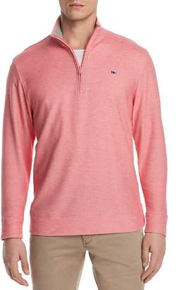 Vineyard Vines Reverse Oxford Piqué Quarter-Zip Pullover