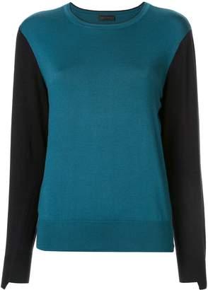 Anteprima colour block jumper