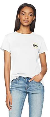 Tommy Hilfiger Tommy Jeans Women's T Shirt Short Sleeve Graphic Logo Tee