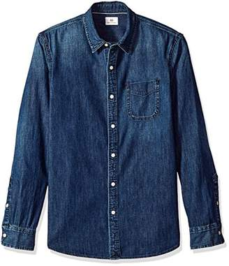 AG Adriano Goldschmied Men's Nelson Long Sleeve Denim Shirt