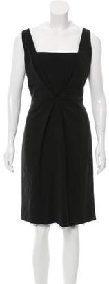Fendi Virgin Wool Sheath Dress