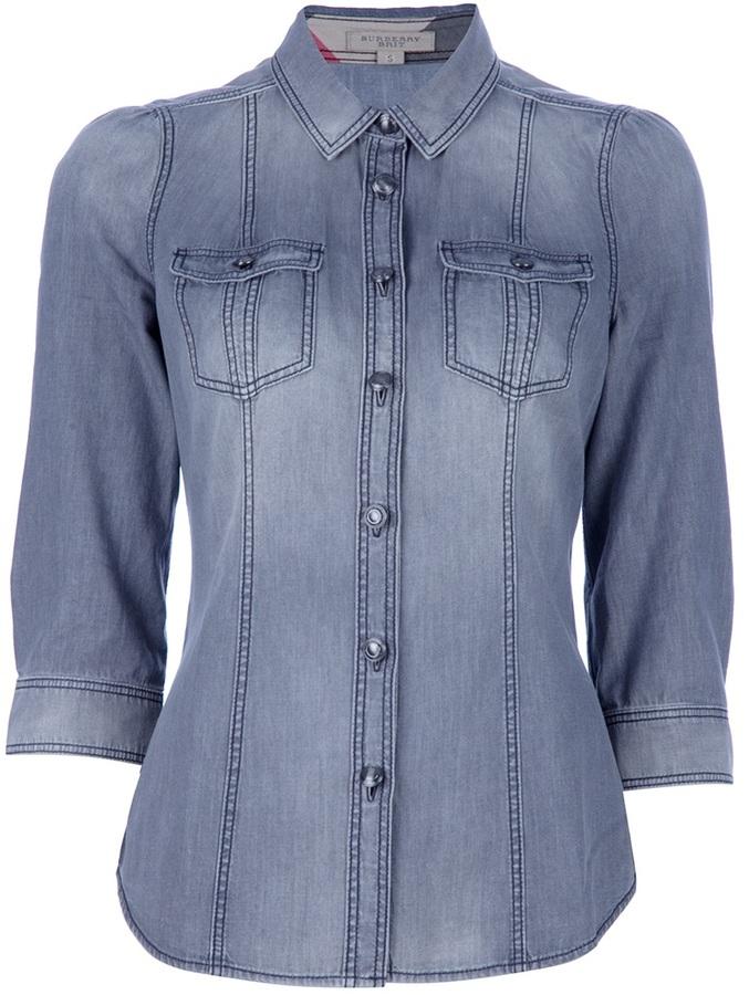 Burberry denim shirt