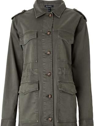 Baukjen Ira Utility Jacket In Washed Khaki