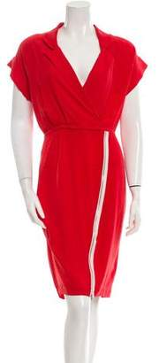 Band Of Outsiders Silk Sheath Dress
