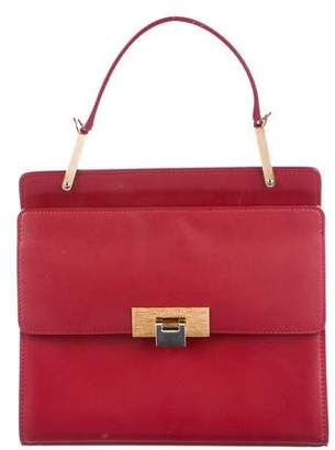 Balenciaga Le Dix Zip Cartable S Leather Satchel