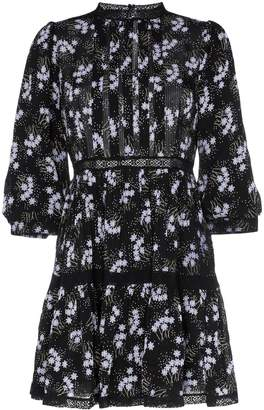 By Ti Mo byTiMo panel insert floral print mini dress