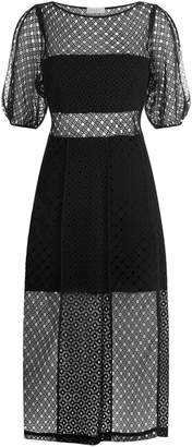 Sandro Lace Midi Dress