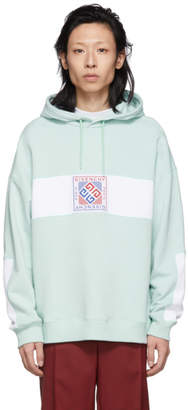 Givenchy Green 4G Patch Hoodie