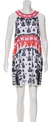 Calypso Linen Mini Dress White Linen Mini Dress