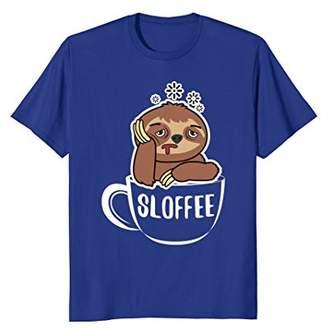 Sloffee Sloth Coffee Lover Shirt