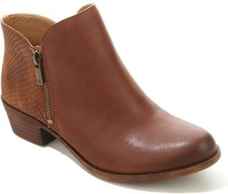"Lucky Brand Leather or Suede ""Blare"" Ankle Boot $129 thestylecure.com"