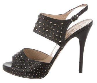 ValentinoValentino Studded Platform Sandals