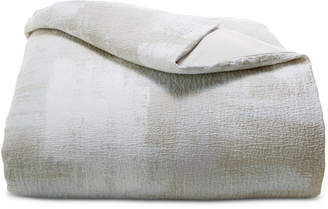 Hotel Collection Cotton Textured Brushstroke King Duvet Cover