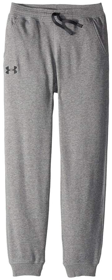 Under Armour Kids Cotton French Terry Joggers Boy's Casual Pants
