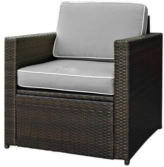 Crosley Palm Harbor Outdoor Wicker Arm Chair