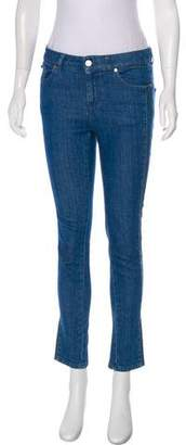 Alexander McQueen Mid-Rise Skinny Jeans