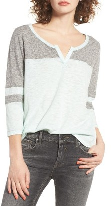 Women's Billabong Your Side Knit Tee $39.95 thestylecure.com