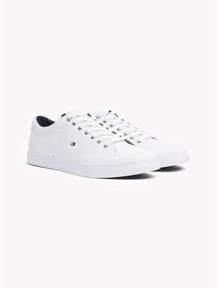 4c509329e Tommy Hilfiger White Leather Men s Shoes