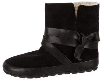 Isabel Marant Shearling Ankle Boots