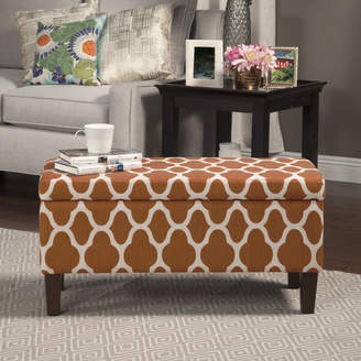 Latitude Run Clare Tokatli Upholstered Storage Bench