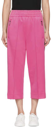 Marc Jacobs Pink Three-Quarter Track Pants