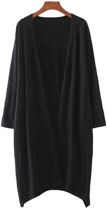 Goodnight Macaroon 'Aiko' Basic Soft Wrap Thin Long Cardigan (3 Colors)