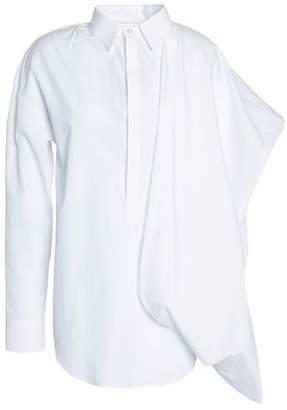 Chalayan Flared Cotton-Poplin Shirt