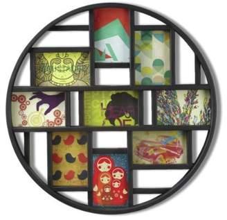 Umbra Round Black Mosaic Frame