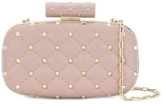 Valentino Rockstud evening clutch bag