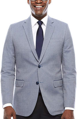 Jf J.Ferrar JF Blue Dot Sport Coat - Slim Fit