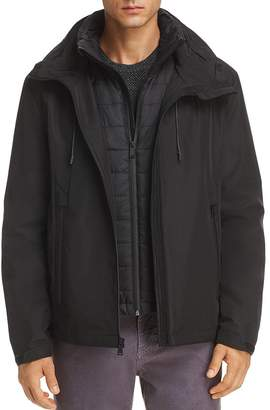 Cole Haan Stitchlite 3-in-1 Rain Jacket
