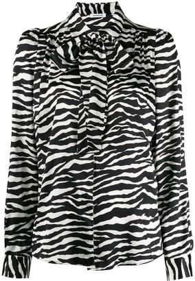 P.A.R.O.S.H. zebra print shirt